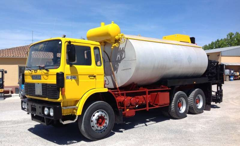 RENAULT G290 RIEGO