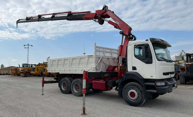 CAMION RENAULT R385 – GRUA FASSI